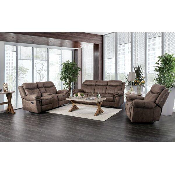 Buckelew Reclining Configurable Living Room Set by Red Barrel Studio