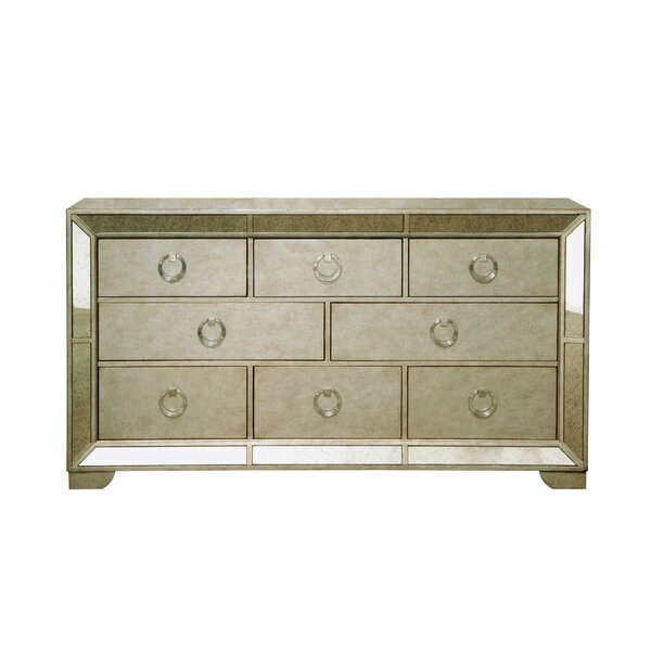 Halstead 8 Drawer Dresser by House of Hampton