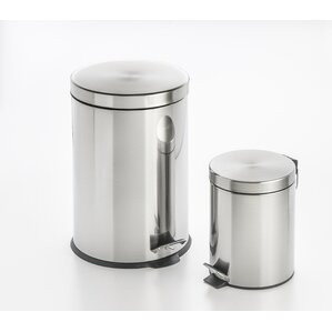 stepon 5 gallon stainless steel trash can