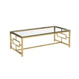 Coffee Table with Tray Top by Mercer41