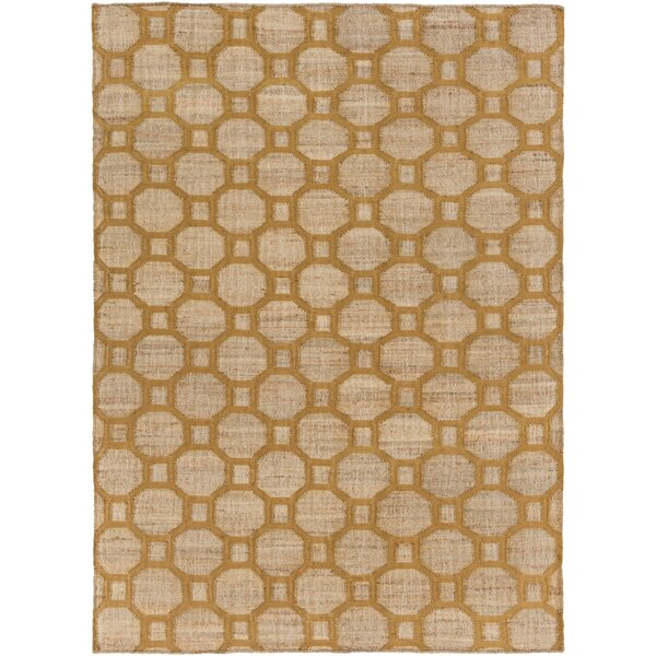 Brentford Mocha/Tan Area Rug by Highland Dunes