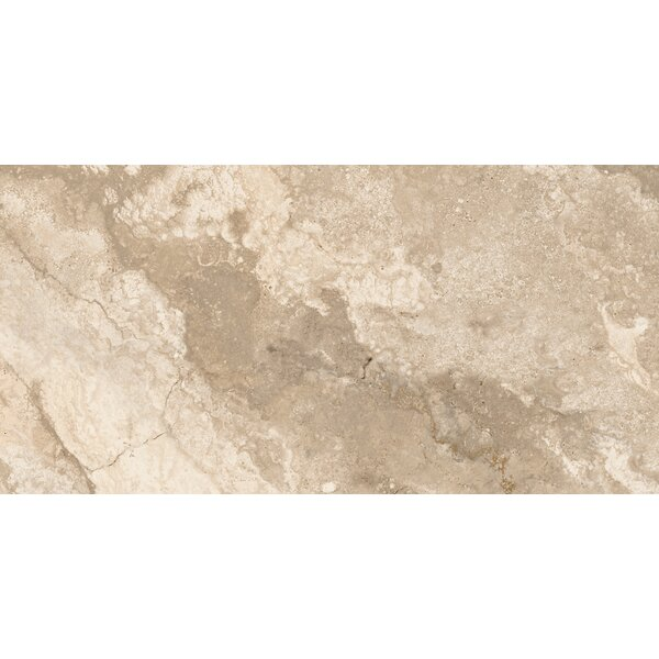 Montana 12 x 24 Porcelain Field Tile in Ivory by Parvatile
