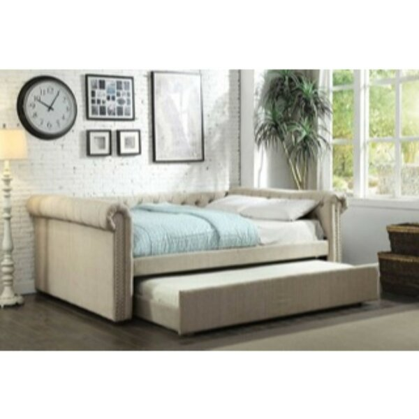 Oslo Daybed With Trundle By Canora Grey