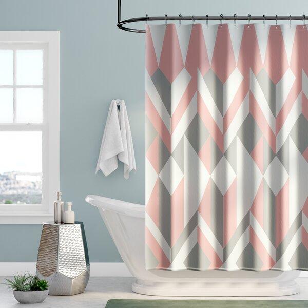 Babineau Cotton Shower Curtain by Mercury Row
