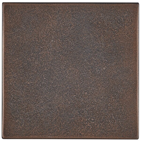 Tilden 4 x 4 Metal Decorative Accent Tile in Oil Rubbed Bronze by Itona Tile