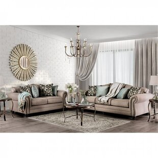 Ireland 2 Piece Configurable Living Room by Canora Grey