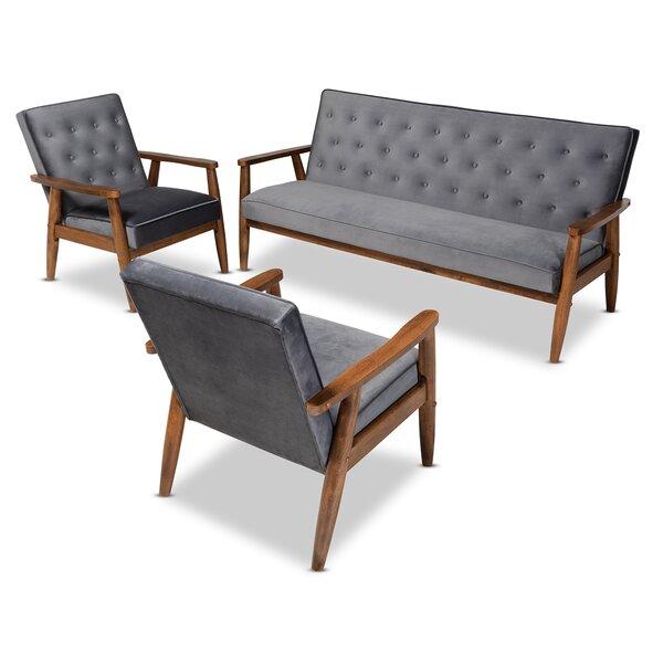 Clayhatchee Mid-Century Armchair by Corrigan Studio Corrigan Studio