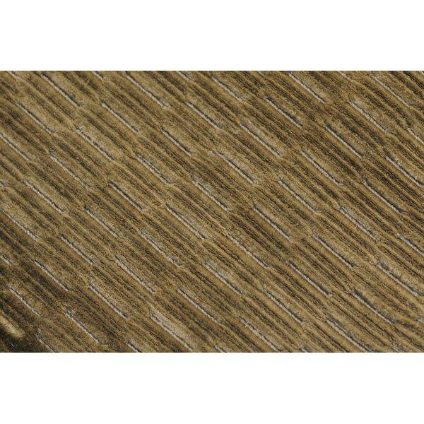 Zaragoza Hand-Woven Gray Area Rug by Bloomsbury Market