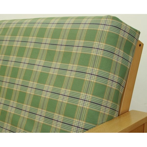 Woodland Plaid Box Cushion Futon Slipcover by Easy Fit
