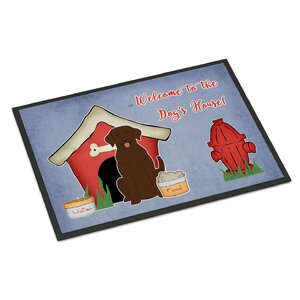 Dog House Labrador Doormat