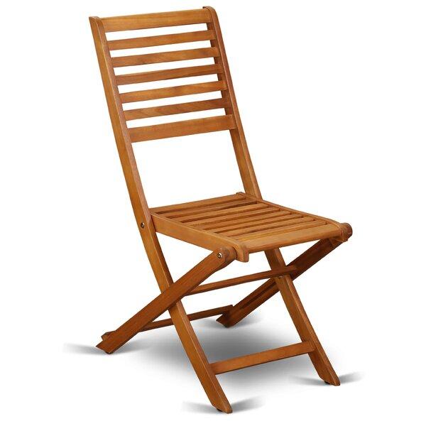 Nathen Folding Patio Dining Chair (Set of 2) by Longshore Tides Longshore Tides