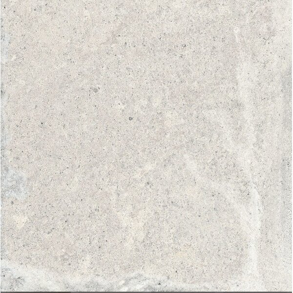 Terranova Calce Glazed 6 x 6 Porcelain Field Tile in White by QDI Surfaces