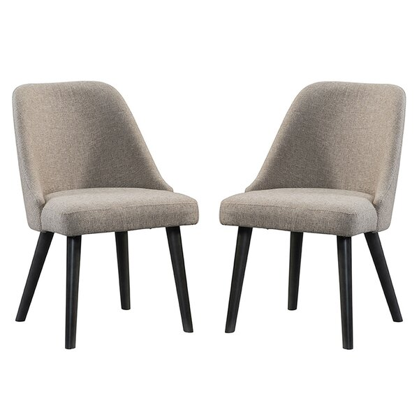Laguna Upholstered Dining Chair (Set of 2) by Union Rustic