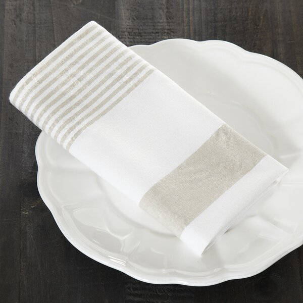 Hooper Striped Napkins (Set of 6) by Birch Lane™
