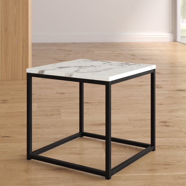 Baize Frame End Table By Wrought Studio