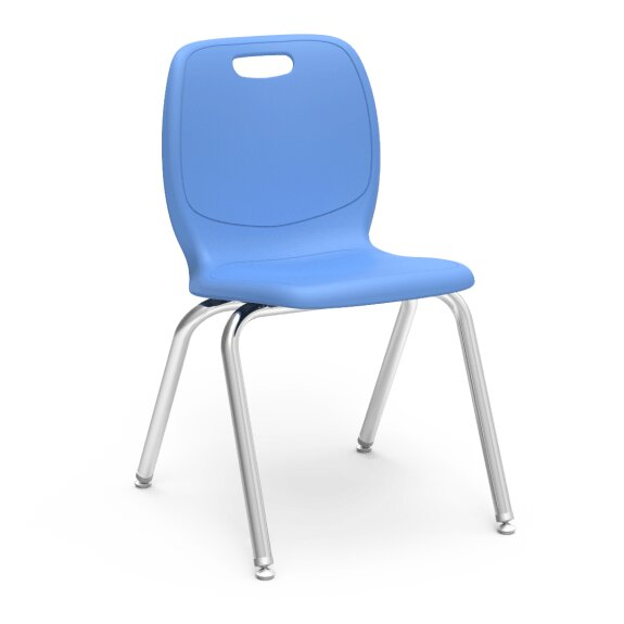 N2 Series 18 Plastic Classroom Chair (Set of 4) by