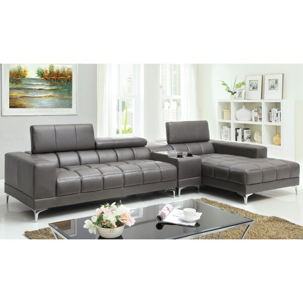 Neva Reclining Sectional by Hokku Designs