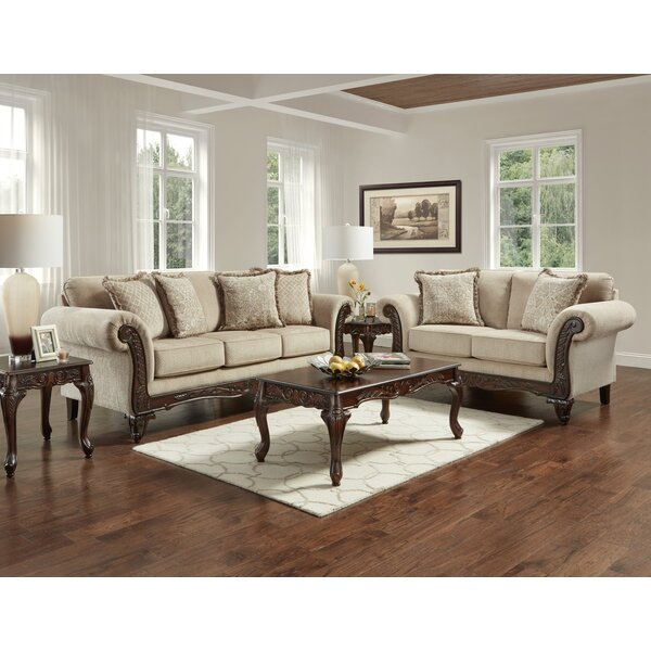 Minatare 2 Piece Living Room Set by Fleur De Lis Living