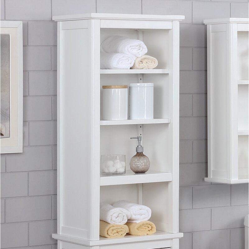 Carruthers 17 W X 36 H Bathroom Shelf