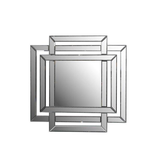 Berrian Bevel Wall Mirror by Wade Logan