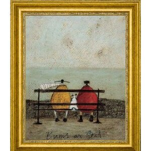 'Bums On Seat' by Sam Toft Framed Painting Print by Canvas Art USA
