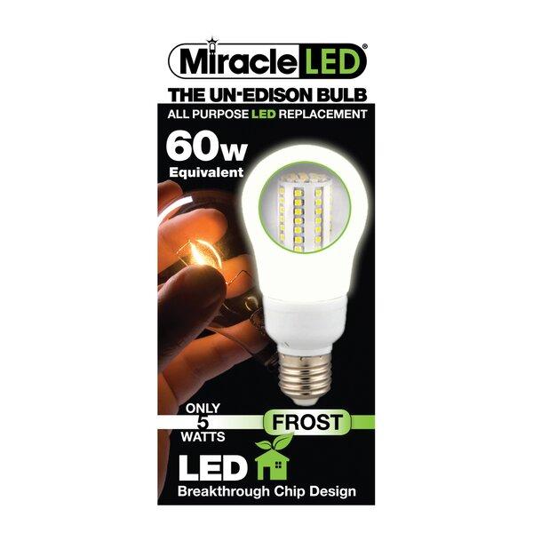 60W (5000K) LED Light Bulb by Miracle LED