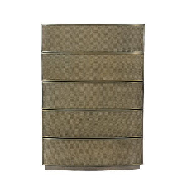 Profile 5 Drawers Standard Dresser by Bernhardt