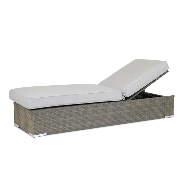 Majorca Reclining Chaise Lounge with Cushion