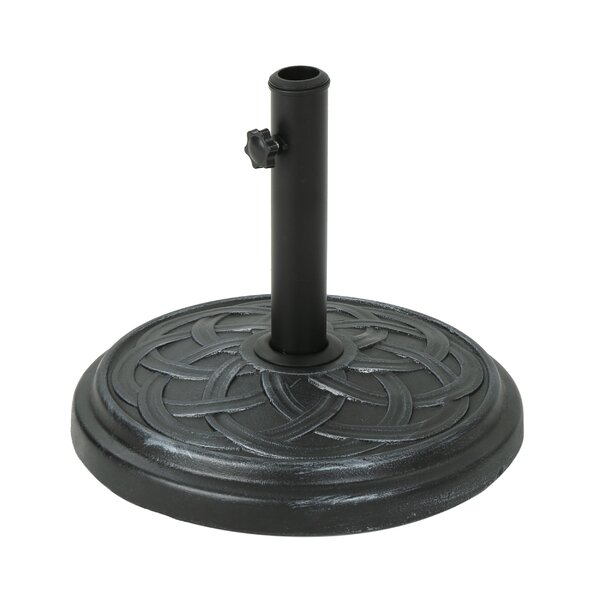 Libertyville Concrete Free Standing Umbrella Base by Charlton Home