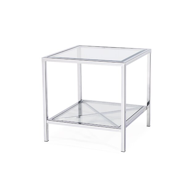 Gardner End Table With Storage By Blink Home