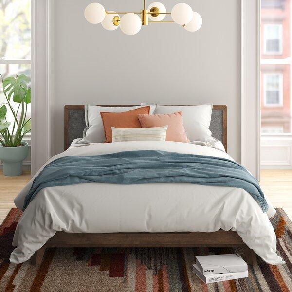 Ronan Upholstered Platform Bed by Foundstone