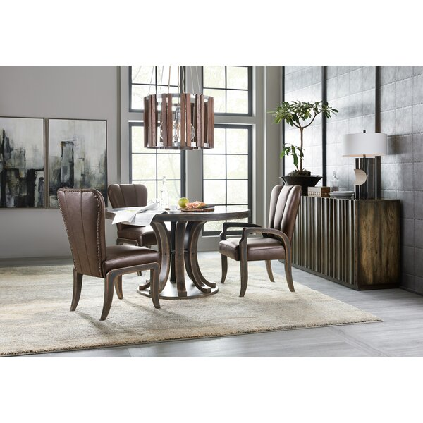 Crafted 5 Piece Dining Set By Hooker Furniture