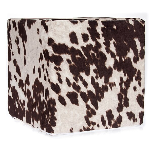 Pierre Decorative Cube Ottoman by Millwood Pines Millwood Pines