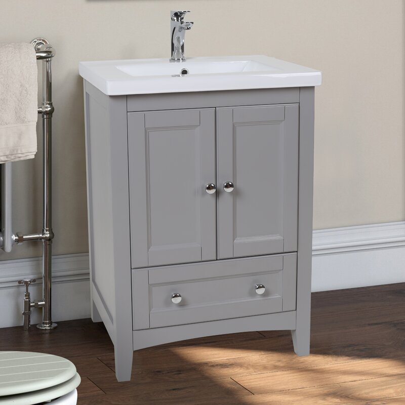 24 Inch Bathroom Vanities You ll Love Wayfair