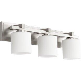 Low priced Marshun 3-Light Vanity Light By Orren Ellis