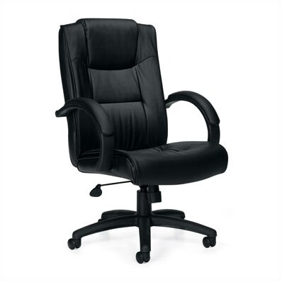 High-Back Leather Executive Chair by Offices To Go