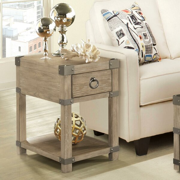 Walden End Table by Gracie Oaks