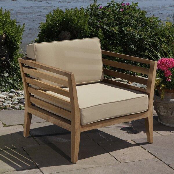 Bali Teak Patio chair with Cushions by Madbury Road