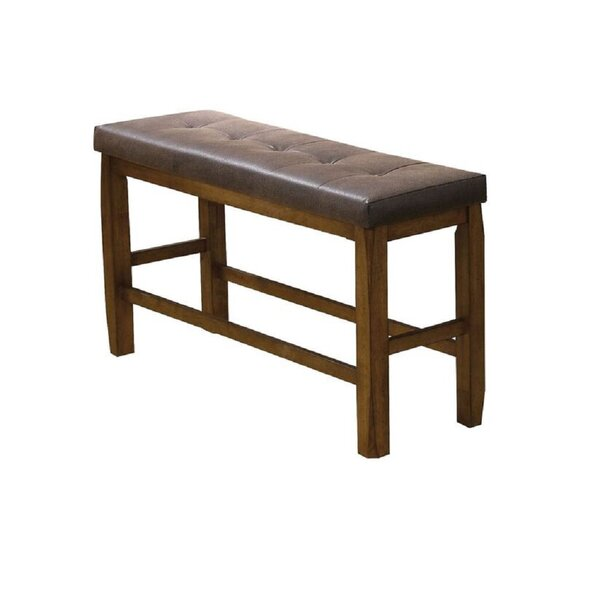 Arely Counter Height Bench By Millwood Pines Best