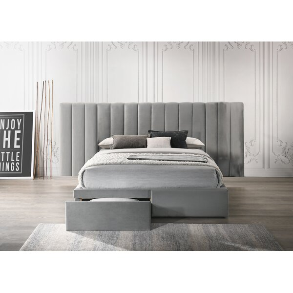 Upholstered Storage Bed by Alcott Hill