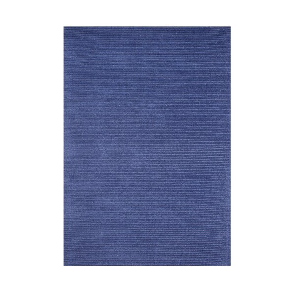 Ferry Hand-Tufted Navy Area Rug by The Conestoga Trading Co.