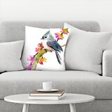 Decorative Pillows With Birds Wayfair
