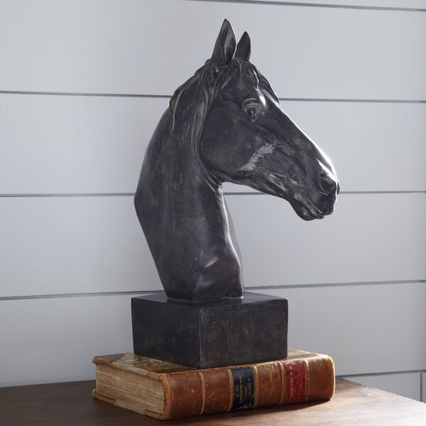Equine Sculpture by Three Posts