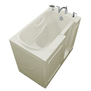 Prairie 46 x 26 Walk In Soaking Bathtub