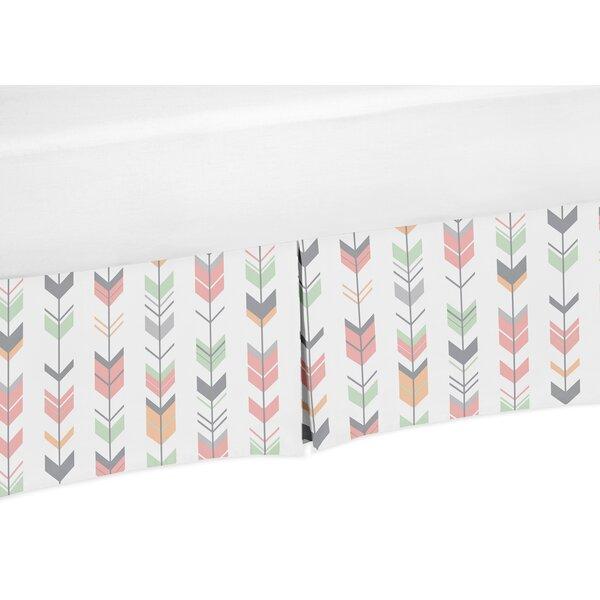 Mod Arrow Crib Skirt by Sweet Jojo Designs