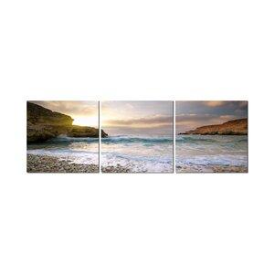 Majorca 3 Piece Photographic Print Set by 3 Panel Photo