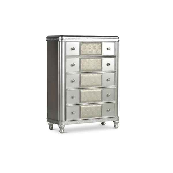 Taryn 5 Drawer Chest by Mercer41