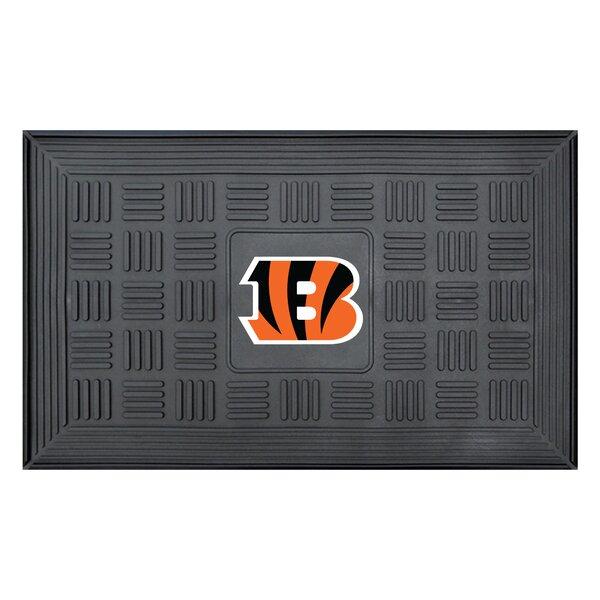 NFL - Cincinnati Bengals Medallion Doormat by FANMATS