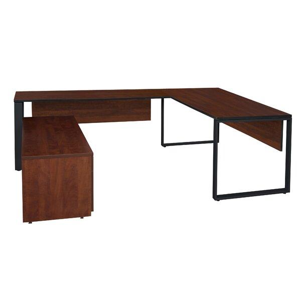 Mireya U-Shape Executive Desk by Ebern Designs