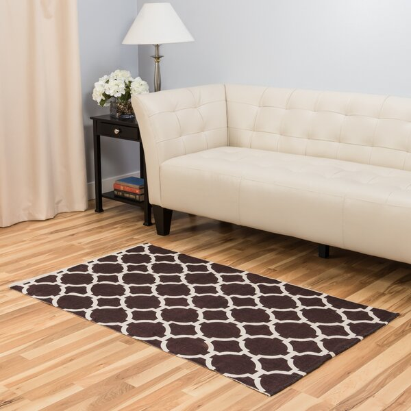 Chocolate Indoor/Outdoor Area Rug by Harbormill